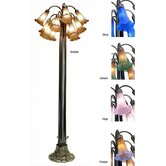 Lily Blue 1Floor Lamp