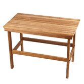 Teak Rigid Leg Bench