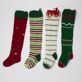 Twas The Night Knitted Holiday Stocking