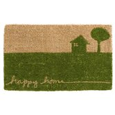 Doormats Happy Home Coir Mat