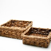 Baskets Rio Willow Basket (Set of 2)