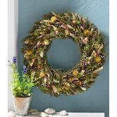 Botanicals Gazebo Floral Wreath