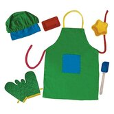 The Little Cook Apron and Silicone Set