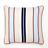 Classic Stars & Stripes Preppy Stripe Pillow