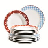 Elena 12 Piece Dinnerware Set