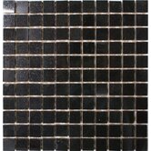 1&quot; x 1&quot; Polished Granite Mosaic in Absolute Black