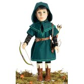 Robin Hood Outfit for 18&quot; Slim Boy Dolls