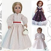 Clothes Pattern Doll Civil War Period