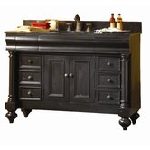 "Guild Hall 48"" Distressed Vanity with Granite Top"