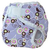 Diaper Cover in Baby Bird Lavender