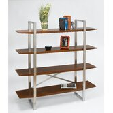 Breeze Bookcase with Stainless Steel Legs