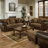 Simmons Upholstery Living Room Sets