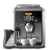 Platinum Swing Espresso Machine with Milk Island
