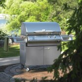 Legacy 36&quot; Cook Number Gas Grill with Deluxe Cabinet