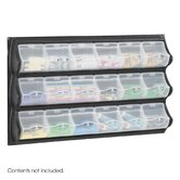Polypropylene Panel Storage with 18 Bins
