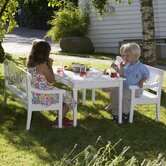 Drachmann Kids Table and Bench