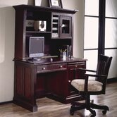 Urban Crossings 50&quot; W Computer Desk with Hutch