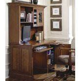 "American Crossings 50"" W Computer Desk with Hutch"
