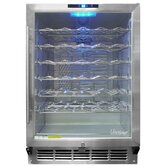 58 Wine Cooler in Stainless Steel