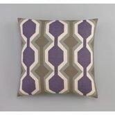 Chelsea Stripe Amethyst Decorative Pillow