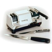 Diamond Hone Multi-Stage Knife Sharpener - Chrome