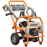 Gas Powered Pressure Washer 3000 psi, 2.8 gpm with five spray nozzles and 35-foot heavy duty hose