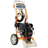 Gas Powered Pressure Washer 2500 psi, 2.3 gpm with three spray nozzles and 25-foot hose