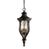 Grand Aisle  Outdoor Pendant in Weathered Charcoal