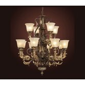 Trump Home Regency 12 Light Chandelier