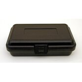 Blow Molded Case without Handle in Black: 5 x 8 x 2.25