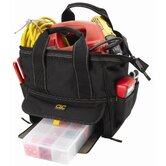 "CLC Tool Bag: 12 Pocket Large Traytote Tool Bag: 12"" H x 12"" W x 8"" D"