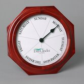 Classic Mahogany DayClock