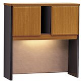 "Series A 36.5"" H x 35.63"" W Desk Hutch"