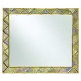 Sanctuary Landscape Mirror in Gold