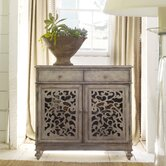 Melange Filigree 2 Drawer Hall Chest