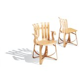 Frank Gehry Hat Trick Arm Chair