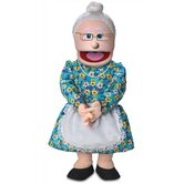 "30"" Granny Professional Puppet with Removable Legs"