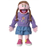 "30"" Amy Professional Puppet with Removable Legs in Pink"