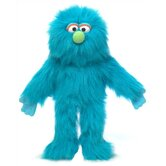 "14"" Blue Monster Glove Puppet"