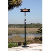 Straight Pole Mounted Electric Patio Heater