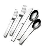 Aria 45 Piece Flatware Set