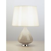 Jonathan Adler Capri Small Table Lamp in Warm Grey