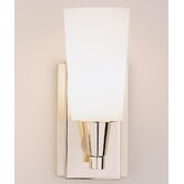 Aria  Wall Sconce in Polished Nickel