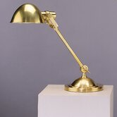 Alvin  Desk Lamp in Antique Natural Brass