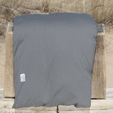 Cotton Jersey Plain Duvet Cover in Smoke