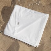 Cotton Jersey Flat Sheet in White