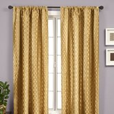 Liona Rod Pocket Curtain Single Panel