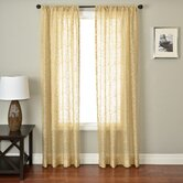 Badi Medallion Rod Pocket Panel in Champagne
