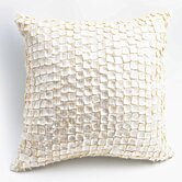 Mother of Pearl Pillow in Cream