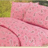 Paisley Sheet Set in Pink